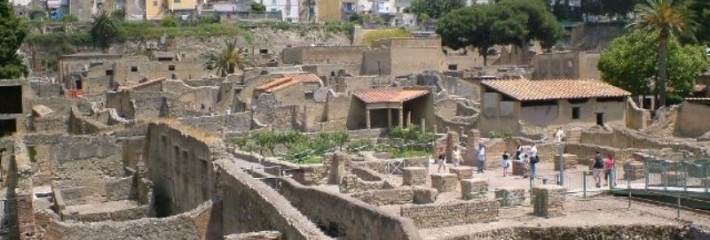 How was the city of pompeii discovered